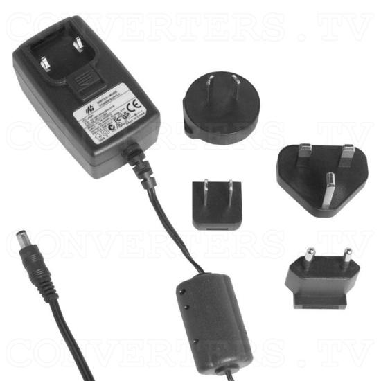 DisplayPort 1 In 4 Out Splitter - Power Supply 110v OR 240v