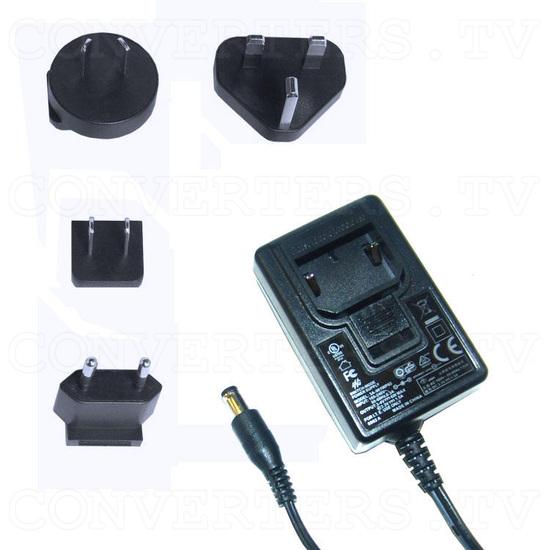 PAL-NTSC Video to WXGA Scaler Converter - Power Supply 110v OR 240v