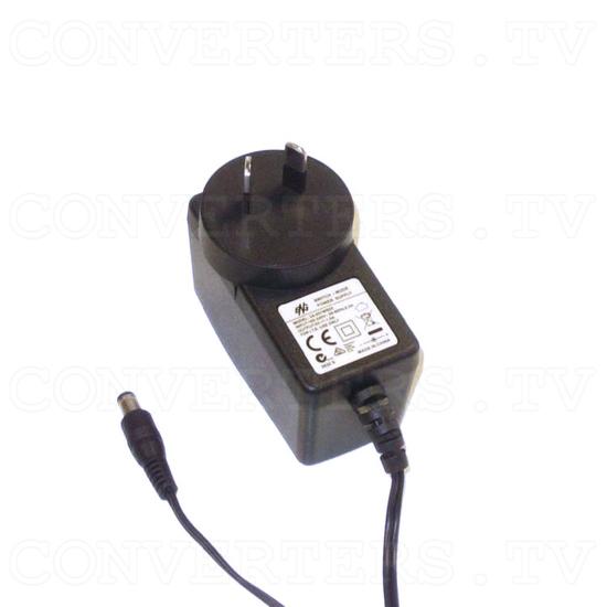 Toslink Splitter 1input - 2output - Power Supply 110v OR 240v