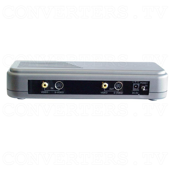 PAL & NTSC to PAL & NTSC Converter (Multisystem)--- (KDV 1000) - Back View