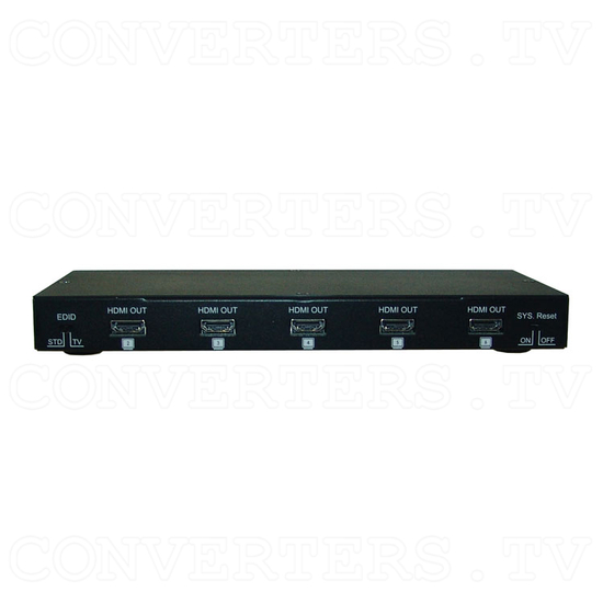 HDMI v1.3 1 In 8 Out 2D-3D Splitter - Front View