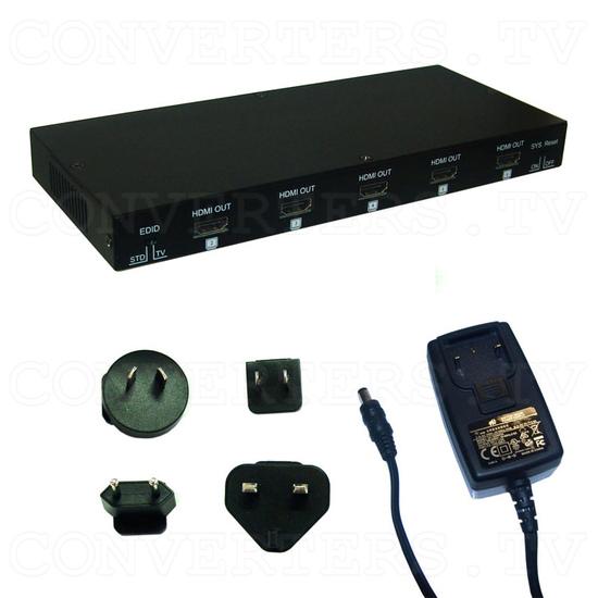 HDMI v1.3 1 In 8 Out 2D-3D Splitter - Full Kit