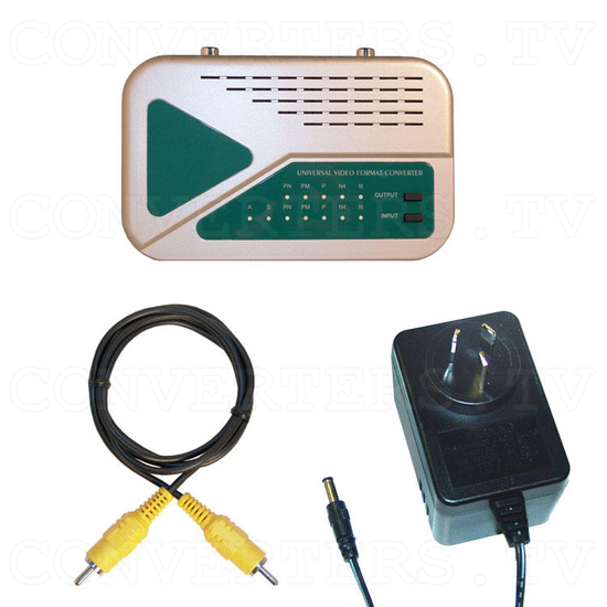 PAL to NTSC (NTSC to PAL) Universal Digital Video Format Converter / Convertor (CDM-630) - Full Kit