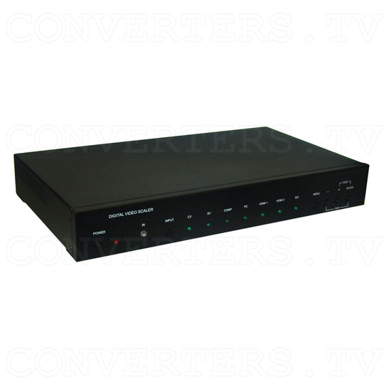 Multi Video to HDMI and VGA Scaler Format Converter - Full View