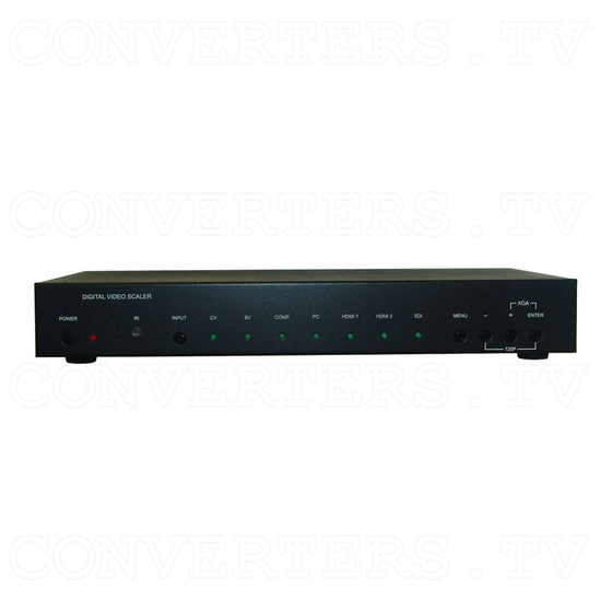 Multi Video to HDMI and VGA Scaler Format Converter - Front View