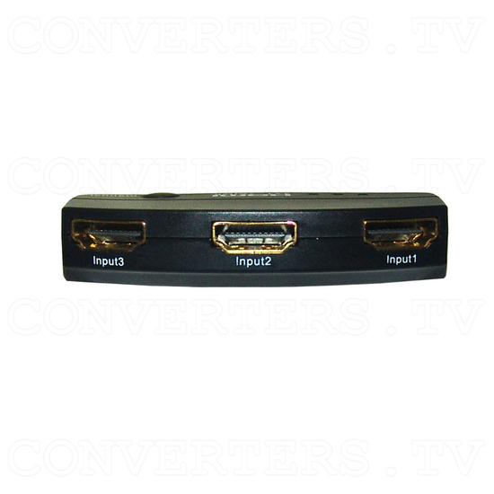 HDMI Switch 3 in 1 out - Back View