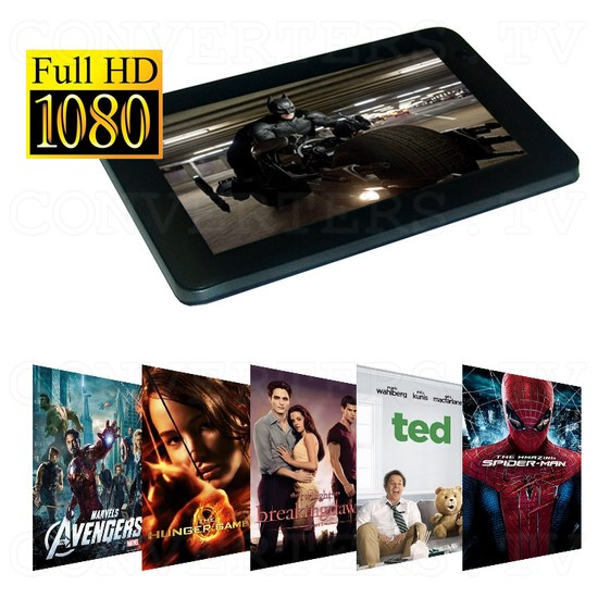 7 Inch Android Tablet 4.0 1.5GHz 8GB with Free Keyboard and Leather Cover (black) - Full HD 1080p