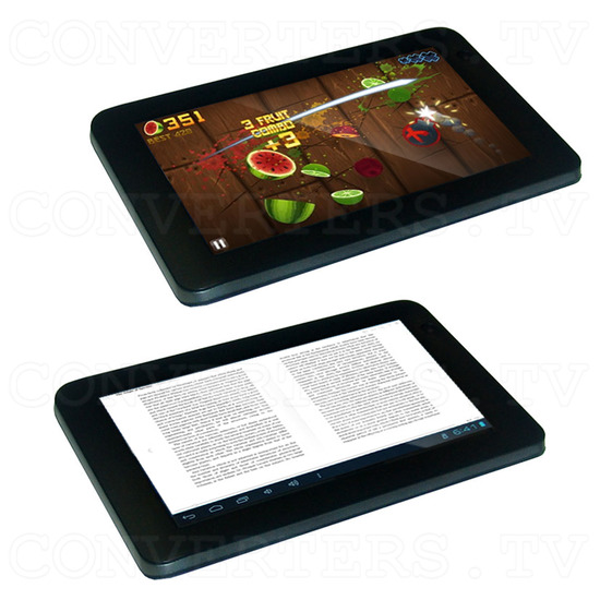 7 Inch Android Tablet 4.0 1.5GHz 8GB with Free Keyboard and Leather Cover (black) - Games and E-Books