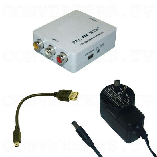 PAL/NTSC Video to NTSC/PAL Video Converter - Full Kit