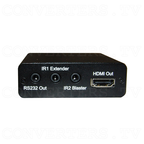HDBaseT-Lite HDMI over CAT5e/6/7 Receiver - Front View