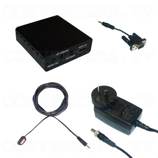 HDBaseT-Lite HDMI over CAT5e/6/7 Receiver - Full Kit