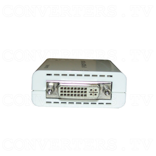 DVI over CAT5e/6 Transmitter and Receiver - Transmitter - Front