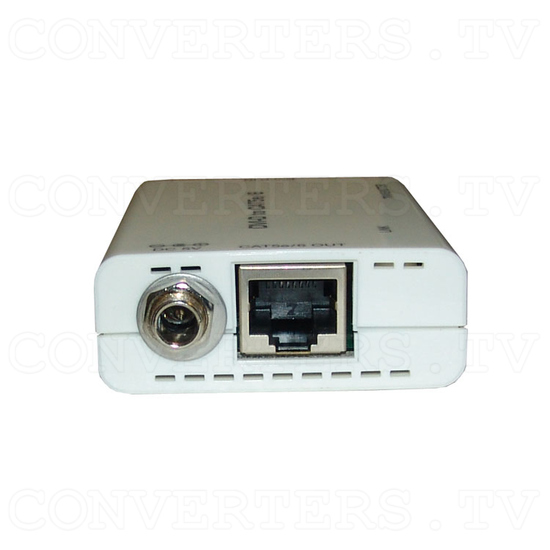 DVI over CAT5e/6 Transmitter and Receiver - Transmitter - Back