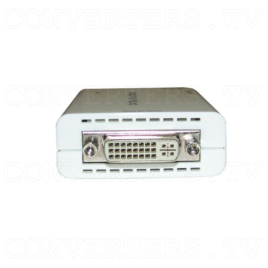 DVI over CAT5e/6 Transmitter and Receiver - Receiver - Back