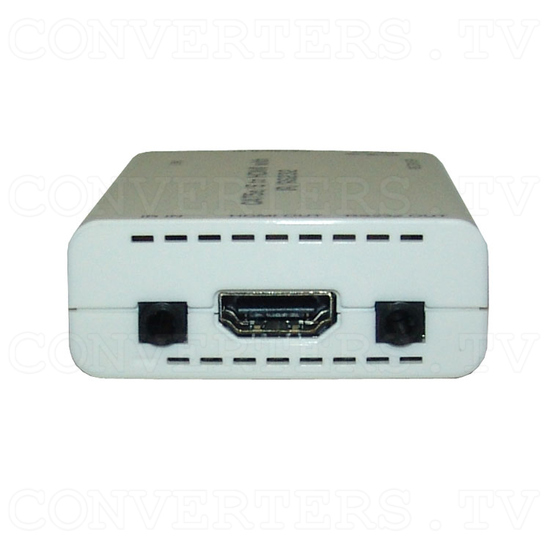 HDMI over CAT6 Transmitter and Receiver with IR & RS232 - Receiver - Front