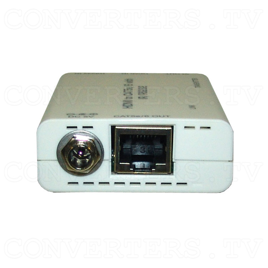 HDMI over CAT6 Transmitter and Receiver with IR & RS232 - Transmitter - Back