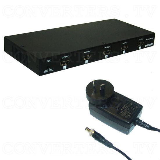 HDMI v1.4 1 Input 8 Output 4Kx2K Splitter - Full Kit