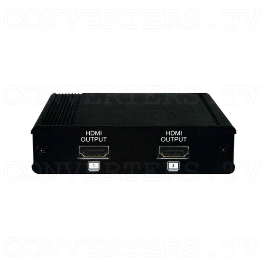 HDMI 1x2 Splitter - Back View