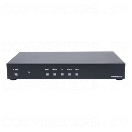 Video to 3G SDI and HDMI Scaler Box - Front View