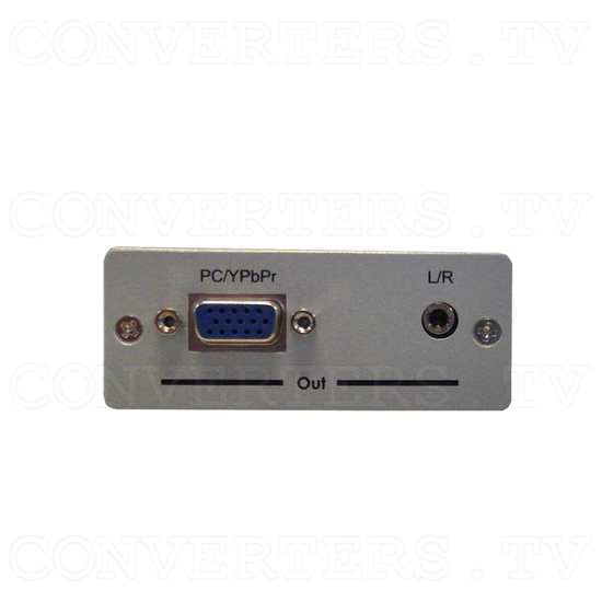 HDMI to PC/Component Converter with Audio Box - Back View