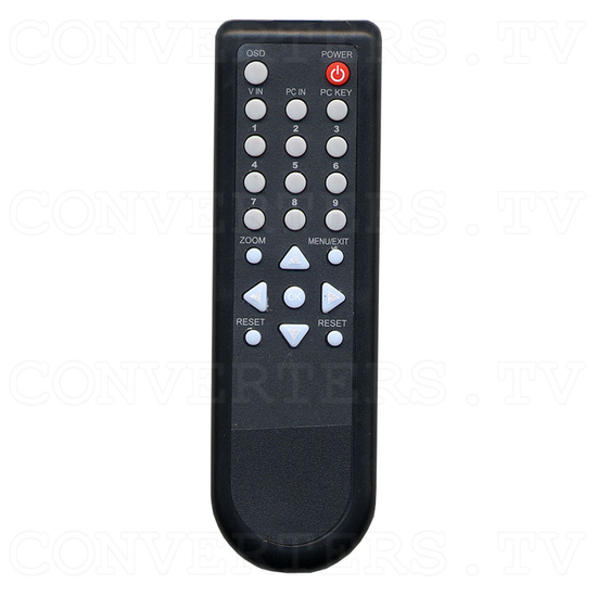 PC and Video System Overlay Processor - Remote