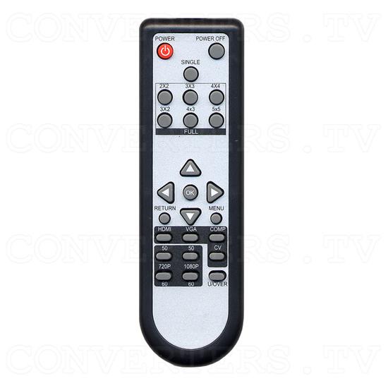 Video to 3G SDI and HDMI Scaler Box - Remote