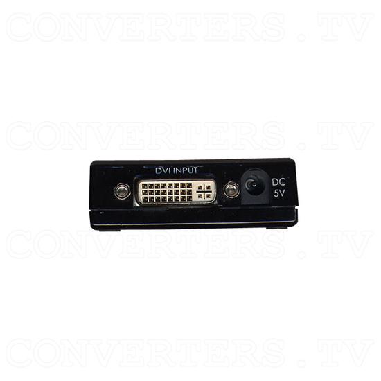 DVI to DVI Scaler Converter - Left View