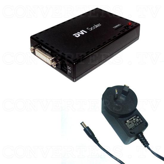 DVI to DVI Scaler Converter - Full Kit