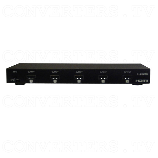 HDMI 1 In 8 Out Splitter - Front View
