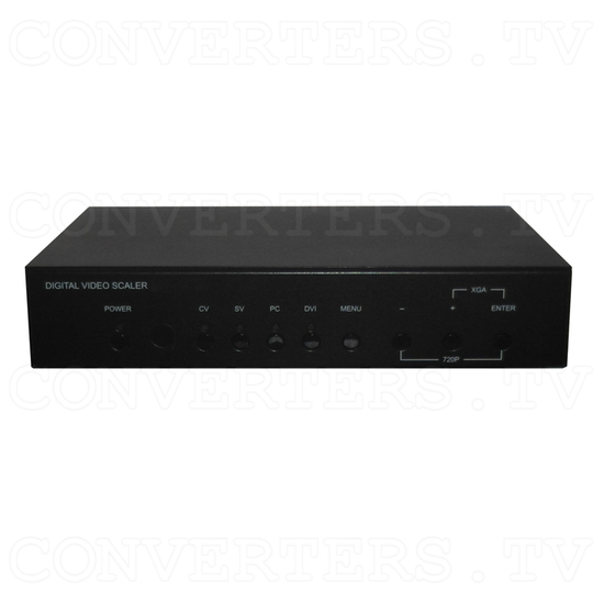 DVI Multi-format Video Scaler - Front View