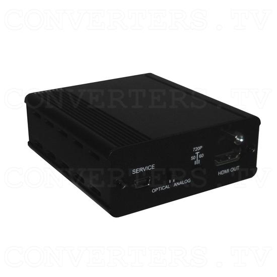 Analog Digital Audio to HDMI Inserter Bridge - Full View
