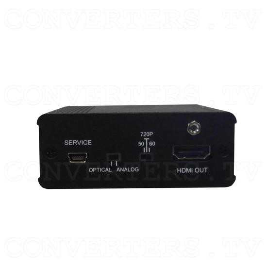 Analog Digital Audio to HDMI Inserter Bridge - Front View