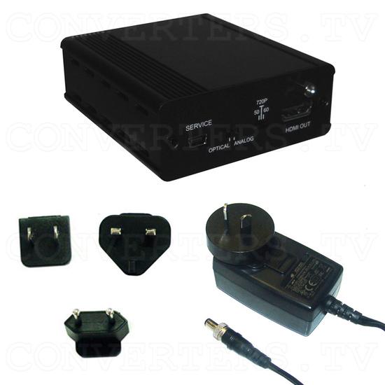 Analog Digital Audio to HDMI Inserter Bridge - Full Kit