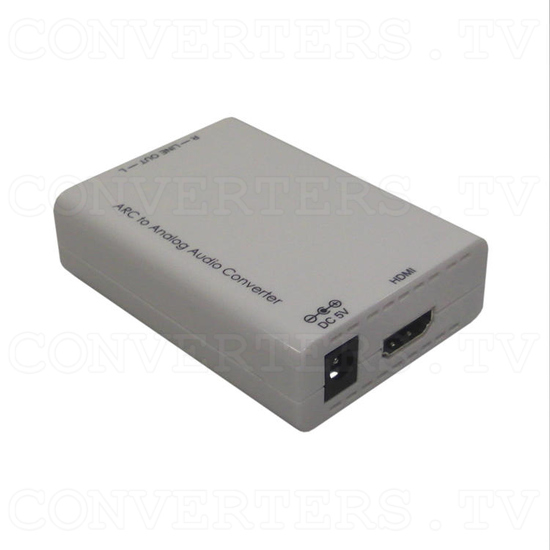 HDMI ARC to Analog Audio Converter - Full View