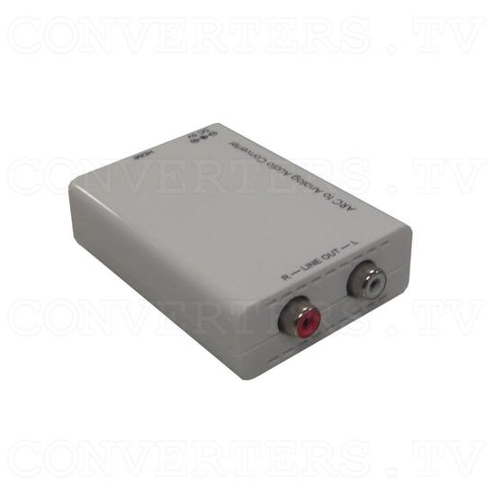 HDMI ARC to Analog Audio Converter - Angle View