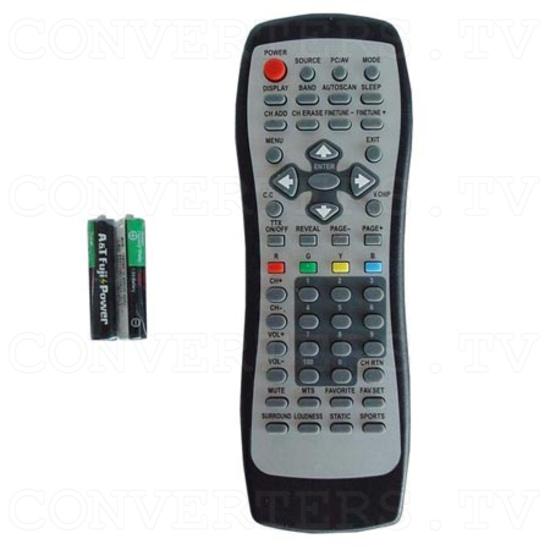 NTSC to VGA / DVI Vivid TV Converter - Remote Control