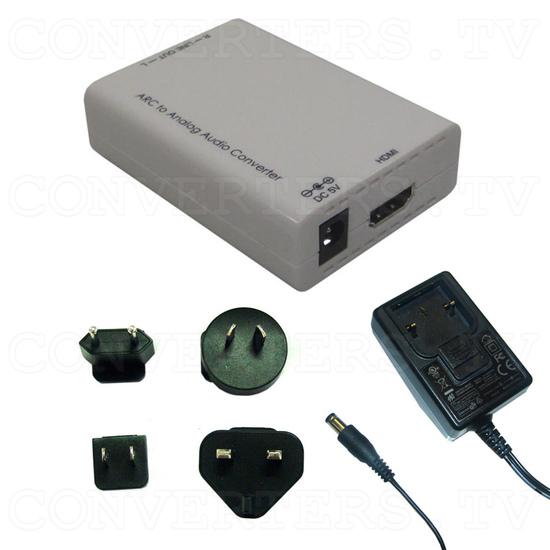 HDMI ARC to Analog Audio Converter - Full Kit
