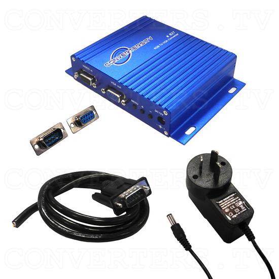 RGB, MDA, CGA, EGA to VGA Converter - Full Kit