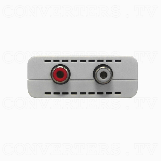 Optical to Analog Audio Converter with Dolby Digital Decoder - Front View