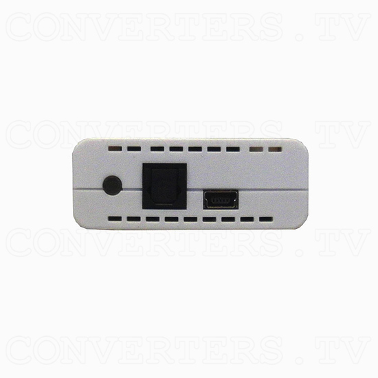 Optical to Analog Audio Converter with Dolby Digital Decoder - Back View