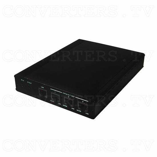 HDBaseT 1x4 HDMI over CAT5e/6/7 Transmitter-Splitter - Full View