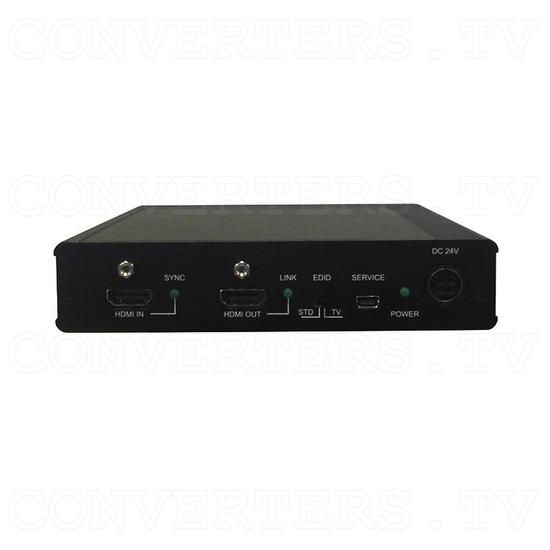 HDBaseT 1x4 HDMI over CAT5e/6/7 Transmitter-Splitter - Back View