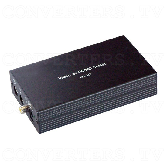 SCART Video to XGA / HDTV Converter - Full View