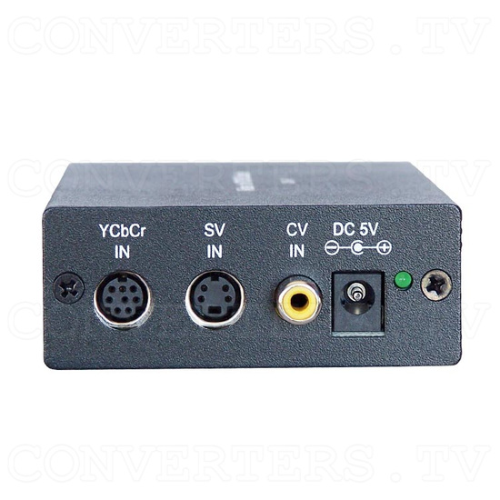 SCART Video to XGA / HDTV Converter - Front View
