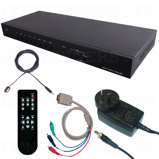 Video to HDMI/VGA Scaler Converter - Full Kit