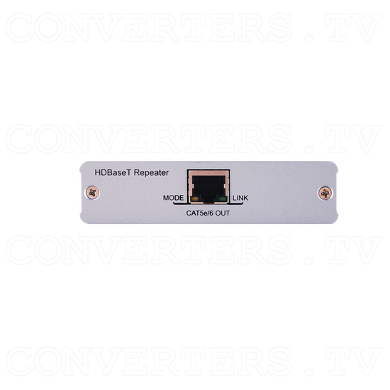 HDBaseT HDMI CAT5e/6/7 Repeater - Front View