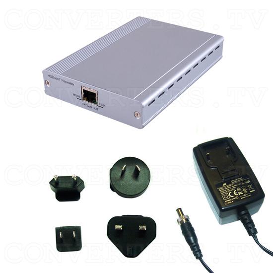 HDBaseT HDMI CAT5e/6/7 Repeater - Full Kit