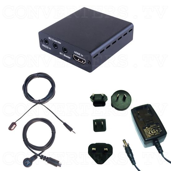 HDBaseT-Lite HDMI over CAT5e/6/7 with PoE Transmitter - Full Kit