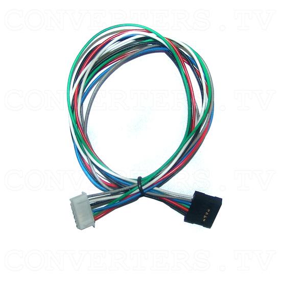 15 Inch Delta CGA EGA Multi-Frequency to XGA Cap-Touch Screen LCD - 6 Pin Header Plug