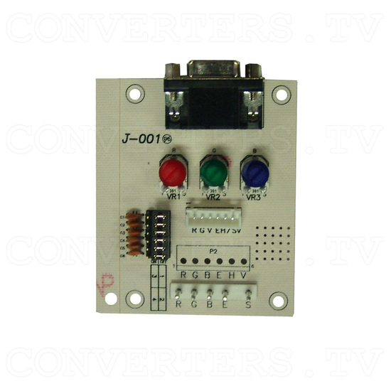 15 Inch Delta CGA EGA Multi-Frequency to XGA Cap-Touch Screen LCD - RGB PCB Interface Board